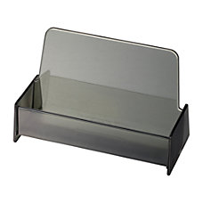 OIC Broad Base Business Card Holder