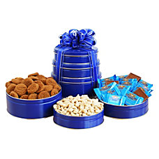 Givens Gift Basket Kosher Tower Blue