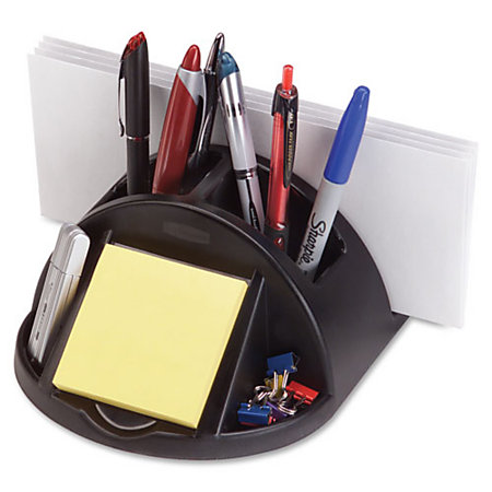 Rubbermaid regeneration desktop organizer 3 35 h x 6 45 w - Rubbermaid desk organizer ...
