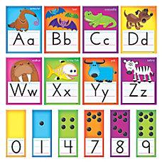 TREND Awesome Animals Manuscript Alphabet Bulletin