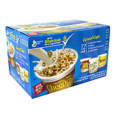 General Mills Cereal Cups Pack Of