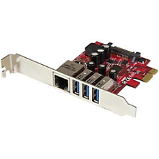 StarTechcom 3 Port PCI Express USB