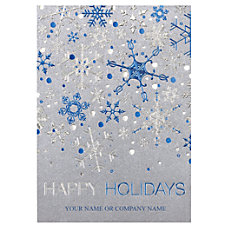 Personalized Front Imprint Holiday Cards With