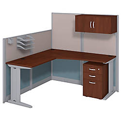 bush business furniture office in an hour l workstation with