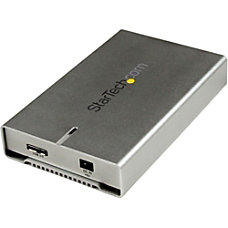 StarTechcom 25 Aluminum USB 30 SATA
