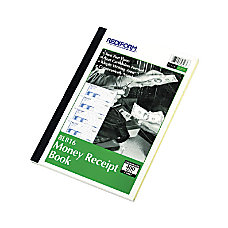 Rediform Money Receipt Book 400 Sheets