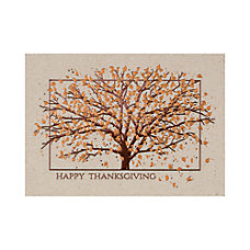 Personalized Thanksgiving Cards With Envelopes FSC