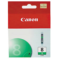 Canon CLI 8G Green Ink Tank