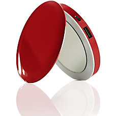 HyperJuice Pearl Compact Mirror USB Rechargeable