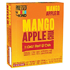 KIND Pressed Mango Apple Chia Fruit