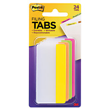 Post it Durable Tabs 3 x