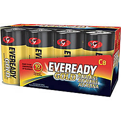 Eveready Gold Alkaline C Batteries C