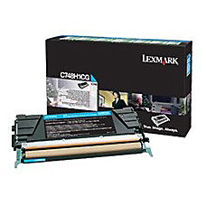 Lexmark Toner Cartridge Cyan