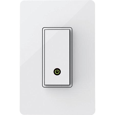Belkin Wemo Light Switch White By Office Depot Officemax