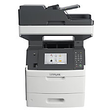 Lexmark MX710de Multifunction Monochrome Laser Printer
