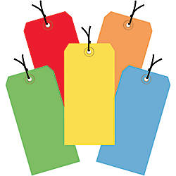 Office Depot Brand Shipping Tags Pre