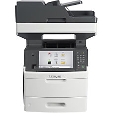 Lexmark MX711dhe Multifunction Monochrome Laser Printer