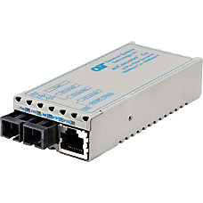miConverter 1000Mbps Gigabit Ethernet Fiber Media