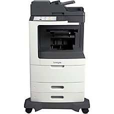 Lexmark MX810de Multifunction Monochrome Laser Printer