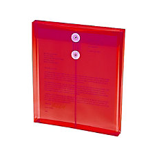 Smead 89547 Red Poly Envelopes with