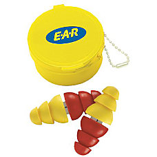 ARC EAR PLUG WCASE ANDPLASTIC CHAIN