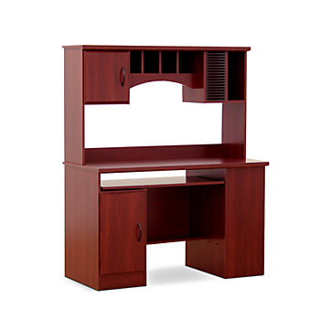 South Shore Furniture Morgan Collection Computer Desk With Hutch, 59