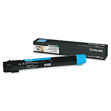 Lexmark X950 High Yield Cyan Toner
