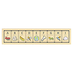 BeginAgain Toys Alphabet Adventure Tiles ThemeSubject