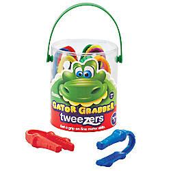 Learning Resources Gator Grabber Tweezers 4