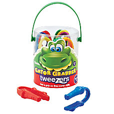 Learning Resources Gator Grabber Tweezers 4