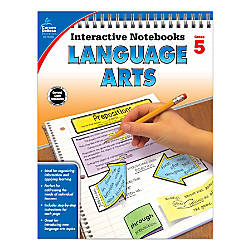 Carson Dellosa Interactive Language Arts Notebook