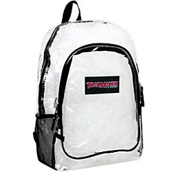 TrailMaker Clear Backpack Assorted Trim Colors