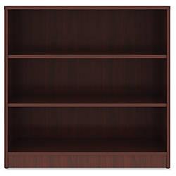 Lorell Mahogany Laminate Bookcase 36 Height