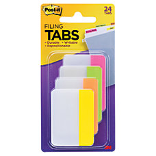 Post it Durable Tabs 2 x