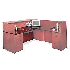 Mayline Group Reception Desk Top 2