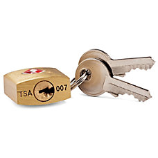 Samsonite Travel Sentry Brass Key Locks