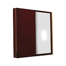 Mayline Corsica Enclosed White Board Cabinet