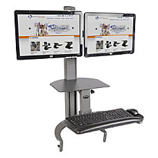 HealthPostures TaskMate Dual Height Adjustable Desk