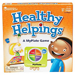 Learning Resources Healthy Helpings MyPlate Game