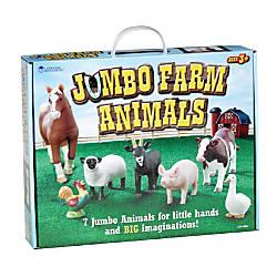 Learning Resources Jumbo Farm Animals Grades
