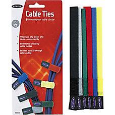 Belkin Nylon Tie Wraps 8 Assorted