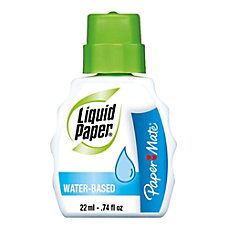 Paper Mate Liquid Paper Water Based