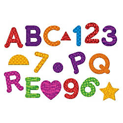 Learning Resources Magnetic Numbers LettersShapes Set