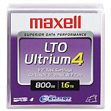 Maxell LTO Ultrium 4 Data Cartridge