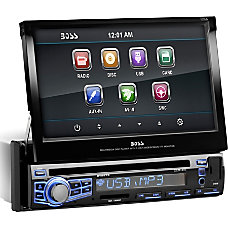 Boss Audio BV9973 Single DIN 7