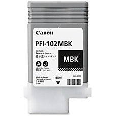 Canon PFI 102MBK Ink Cartridge