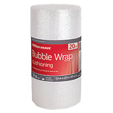 Office Depot Brand Bubble Roll 316