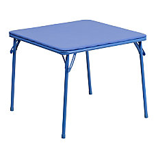 Flash Furniture Kids Folding Table Square