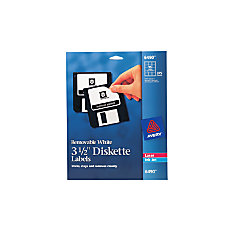 Avery Removable InkjetLaser 3 12 Diskette