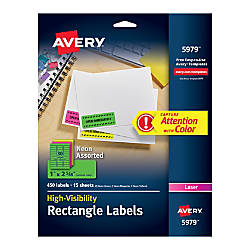 Avery Permanent Laser ID Labels 1